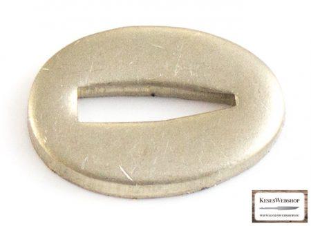 """Illeszték Lauri pengéhez Nikkel-ezüst (alpakka) 13x18x2mm """"V"""""""