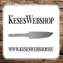 Kés markolat csavar - ezüst 2db