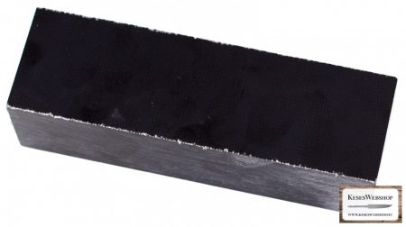Micarta markolat tömb, fekete