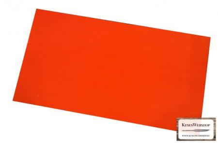 Vulcanfíber piros színű 0,8mm