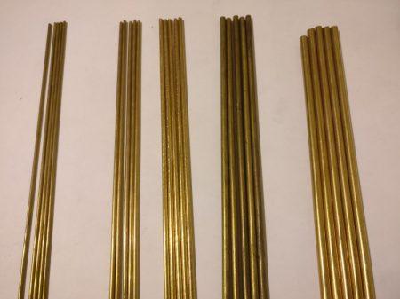 Tijă de alamă 4mm