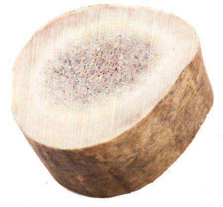 Rénszarvas agancs szelet, vastag