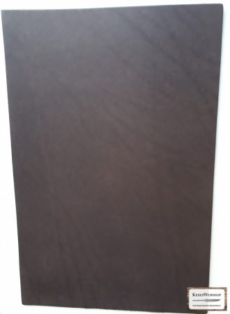 Bőr lap, Barna színű, növényi cserzett bőr lap 3 mm x 200 mm x 300 mm