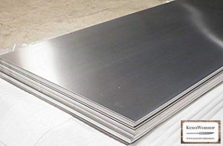 1.4116 - (X50CrMoV15) rozsdamentes késacél 2,5x250x1000mm