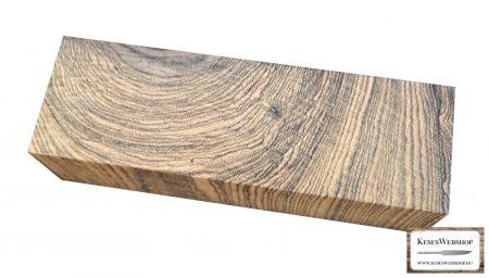 Bocote markolat tömb 30mm x 45mm x 125mm