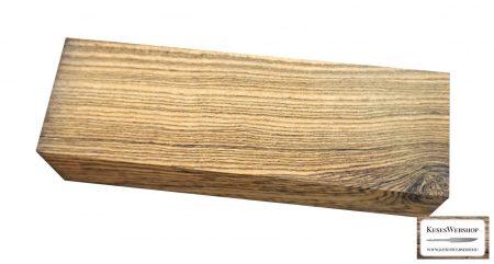 Bocote markolat tömb 30mm x 40mm x 125mm