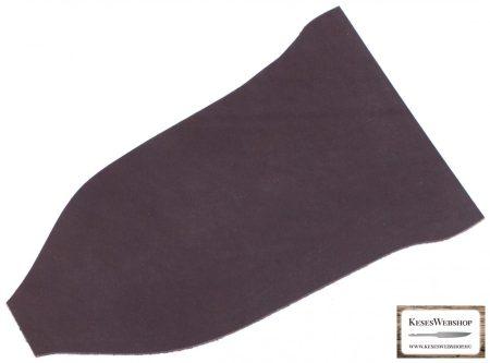 Bőr lap, barna színű, növényi cserzett bőr lap 2,2 mm x 105 mm x 220 mm