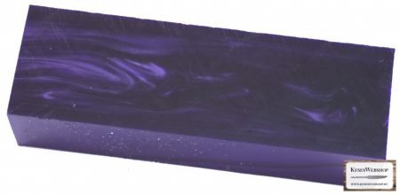 Kirinite Deep Purple markolat tömb 33 mm 45 mm x 130 mm