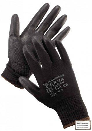 Munkakesztyű -11- CERVA Bunting Black Evolution