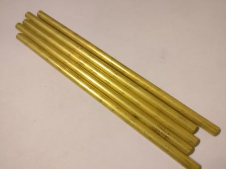 Sárgaréz cső 8 mm x 200 mm