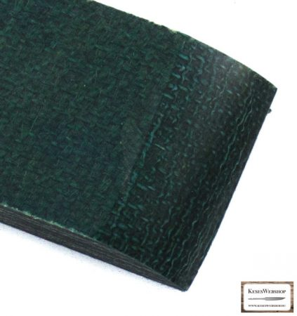 Juta Micarta, zöld panel pár, 9.0mm