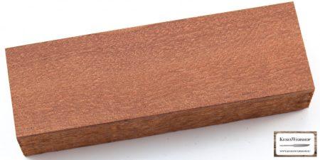 Mahagóni fa markolattömb
