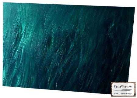 Kirinite zöld gyöngyház tábla 6,4mm
