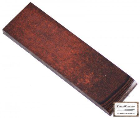 Micarta, rozsdás/feket panel pár, 8mm