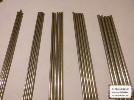 Rozsdamentes W8 ezüstacél, szerszámacél 4mm x 200mm