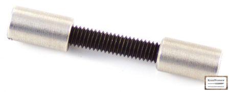 Acorn markolat csavar acél 6,35 mm 2 db