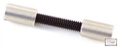 Acorn markolat csavar, 6mm acél 2db