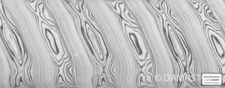 DAMASTEEL®  Dense Twist - ca. 4,0 x 38mm  /cm