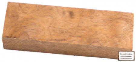 Bloc pentru mâner din lemn Curly Bubinga White