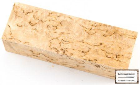 Csomoros nyír (AA) markolat tömb