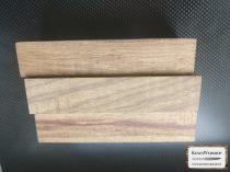 Rózsafa (Bahia Rosewood) markolat tömb (vékony)