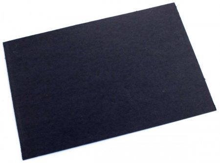 Fibră vulcanizată, 0,8mm neagră,