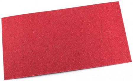 Vulcanfíber tégla színű 0,8mm vulkanizált