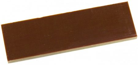 Material pentru mâner G10, maro, 6.4 mm, pereche