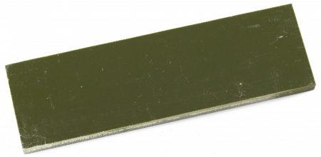 Material pentru mâner G10, oliv, 6.4 mm, pereche