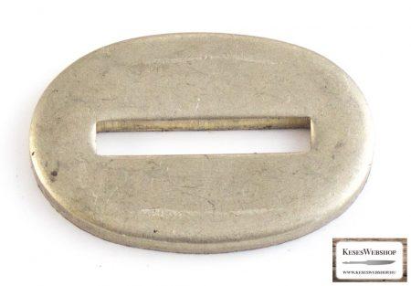 Gardă nichel argint pentru lame cu mâner nituit 21x32x3mm