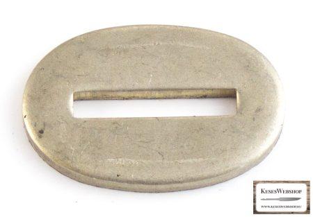 Nikkel-ezüst (alpakka) illeszték markolattüskés pengéhez 21x32x3