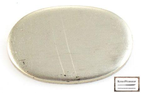 Nikkel-ezüst (alpakka) illeszték markolattüskés pengéhez tömör