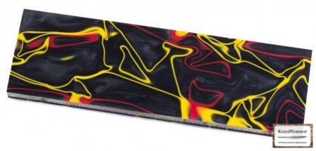 Kirinite Black/Red/Yellow markolat panel pár 6,4mm