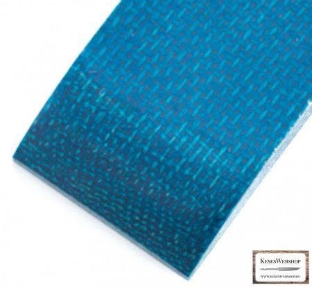 Juta Micarta, aqua panel pár, 9.5mm