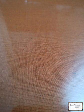 Micarta, barna nagy panel tábla, 8mm 250x270mm