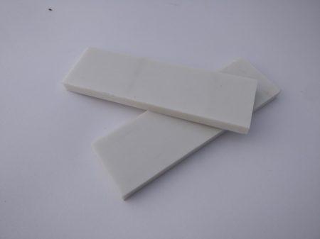 Micarta, Fehér panel pár, 8mm