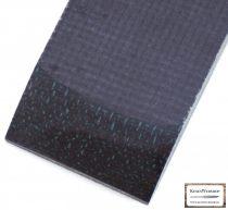 Jute Micarta, negru, set de plasele 9,5mm