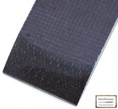 Juta Micarta, fekete panel pár, 9.0mm
