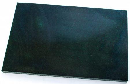 Micarta, fekete/zöld/szürke panel tábla, 8mm