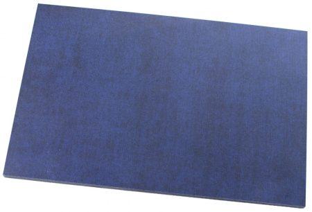 Micarta, kék/fekete panel tábla, 6mm