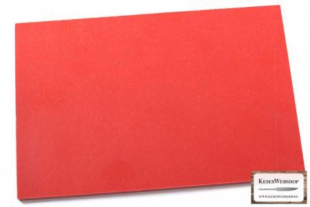 Micarta, neonnarancs panel tábla, 9mm
