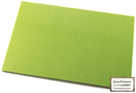 Micarta, neonzöld panel tábla, 9mm