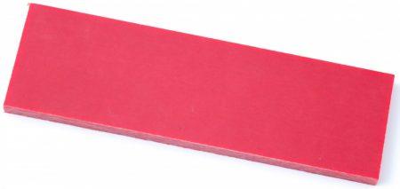 Micarta, piros panel pár, 6,4mm