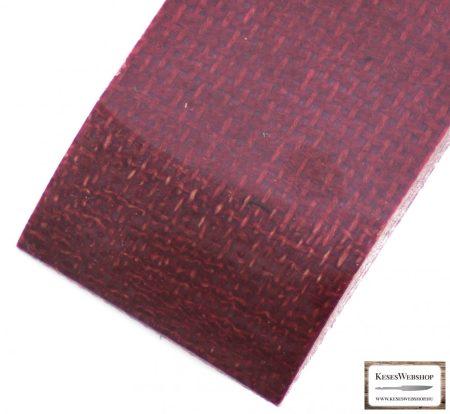 Juta Micarta, szilva panel pár, 9.0mm