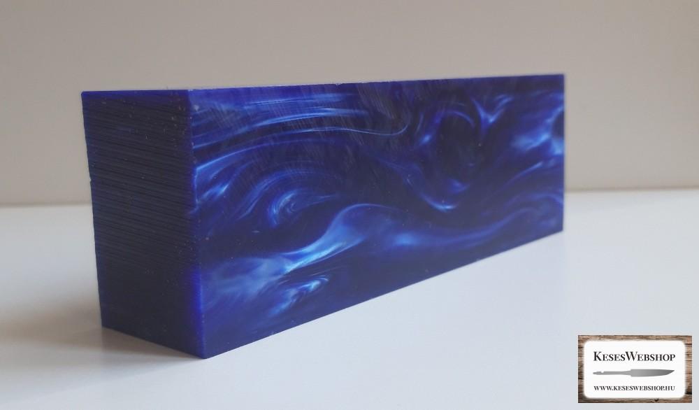 Kirinite Midnight Blue markolat tömb 33 mm 45 mm x 130 mm
